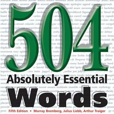 دانلود کتاب 504 کلمه ضروری انگلیسی به صورت رایگان و با لینک مستقیم